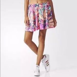 Adidas | Flared Floral Skirt with Pockets Sz S,M,L